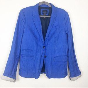 J. Crew blue schoolboy blazer TALL
